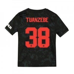 Manchester United Cup Third Shirt 2019 – 20 – Kids with Tuanzebe 38 printing