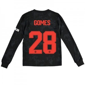 Manchester United Cup Third Shirt 2019 - 20 - Kids - Long Sleeve with Gomes 28 printing