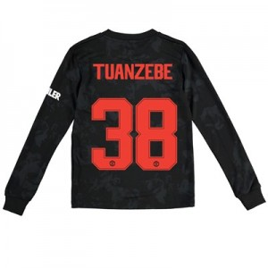 Manchester United Cup Third Shirt 2019 – 20 – Kids – Long Sleeve with Tuanzebe 38 printing
