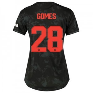 Manchester United Cup Third Shirt 2019 – 20 – Womens with Gomes 28 printing