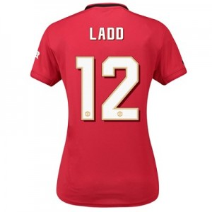 Manchester United Cup Home Shirt 2019 - 20 - Womens with Ladd 12 printing