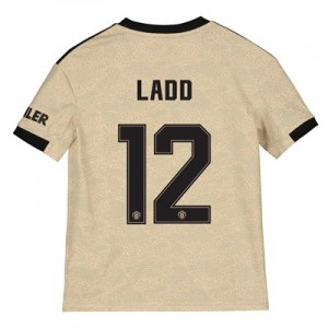 Manchester United Cup Away Shirt 2019 - 20 - Kids with Ladd 12 printing