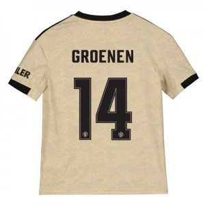 Manchester United Cup Away Shirt 2019 - 20 - Kids with Groenen 14 printing