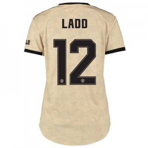Manchester United Cup Away Shirt 2019 – 20 – Womens with Ladd 12 printing