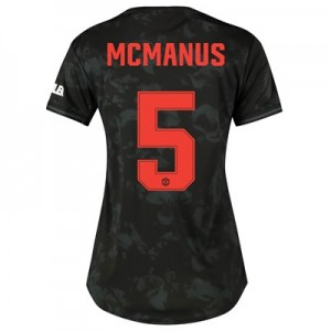 Manchester United Cup Third Shirt 2019 - 20 - Womens with McManus 5 printing