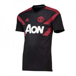 Manchester United Pre Match Shirt - Black