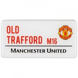 Manchester United Street Sign Magnet