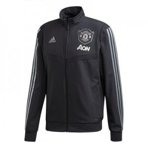 Manchester United Cup Training Presentation Jacket – Grey