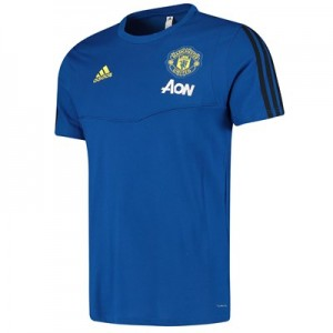 Manchester United Training Tee - Blue
