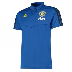 Manchester United Training Polo – Blue