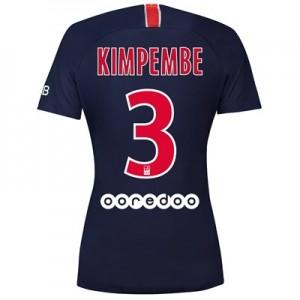 Paris Saint-Germain Home Stadium Shirt 2018-19 - Womens with Kimpembe 3 printing