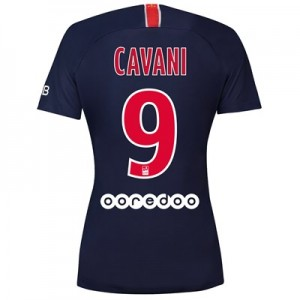 Paris Saint-Germain Home Stadium Shirt 2018-19 - Womens with Cavani 9 printing