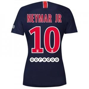 Paris Saint-Germain Home Stadium Shirt 2018-19 - Womens with Neymar Jr 10 printing