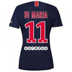 Paris Saint-Germain Home Stadium Shirt 2018-19 - Womens with Di Maria 11 printing