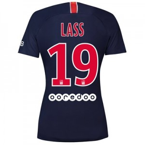 Paris Saint-Germain Home Stadium Shirt 2018-19 - Womens with Lass 19 printing
