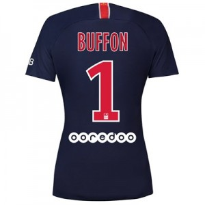Paris Saint-Germain Home Stadium Shirt 2018-19 - Womens with Buffon 1 printing