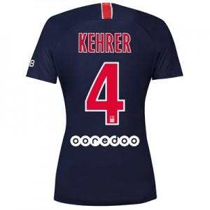 Paris Saint-Germain Home Stadium Shirt 2018-19 - Womens with Kehrer  4 printing