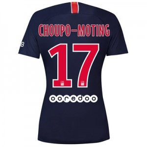 Paris Saint-Germain Home Stadium Shirt 2018-19 - Womens with Choupo-Moting 17 printing