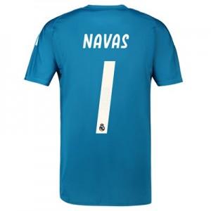 Real Madrid Away Goalkeeper Shirt 2018-19 with Navas 1 printing