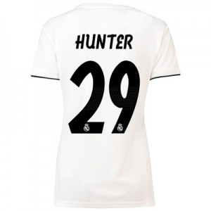 Real Madrid Home Shirt 2018-19 - Womens with Hunter 29 printing