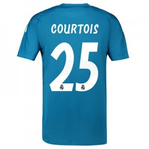 Real Madrid Away Goalkeeper Shirt 2018-19 with Courtois 25 printing
