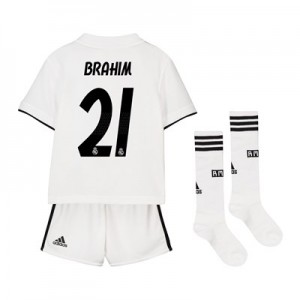 Real Madrid Home Mini Kit 2018-19 with Brahim 21 printing