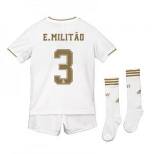 Real Madrid Home Kit 2019 – 20 – Kids with E. Militão 3 printing