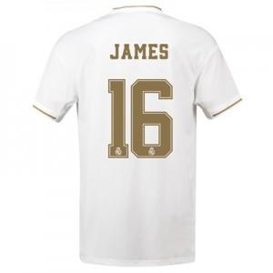 Real Madrid Home Shirt 2019-20 with James 16 printing