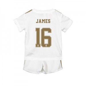 Real Madrid Home Baby Kit 2019 – 20 with James 16 printing