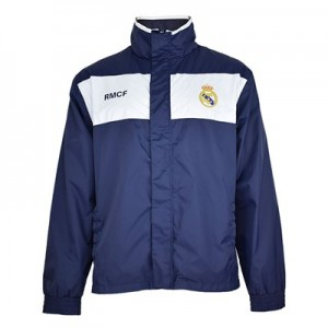 Real Madrid Shower Jacket – Navy – Mens