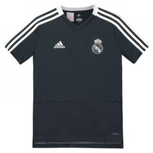 Real Madrid Training Jersey - Dark Grey - Kids