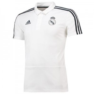 Real Madrid Training Polo - White