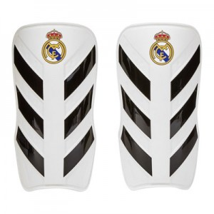 Real Madrid Pro Lite Shin Guards – White