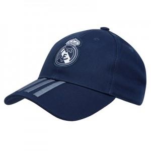 Real Madrid 3 Stripe Cap – Dark Grey