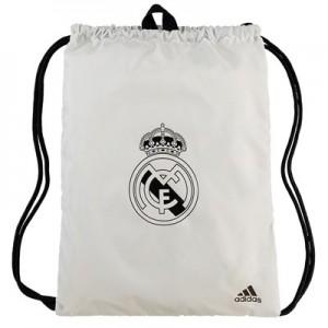 Real Madrid Gym Bag - White