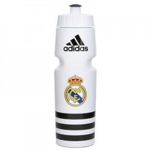 Real Madrid Water Bottle - White