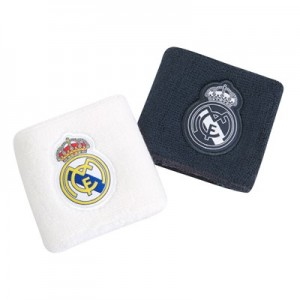 Real Madrid Wristbands - White