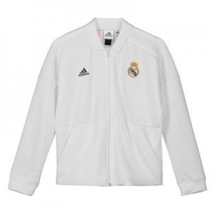 Real Madrid ZNE Home Anthem Jacket – White – Kids