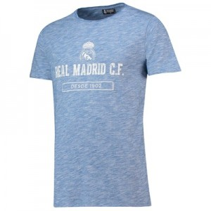 Real Madrid Printed T-Shirt - Blue - Mens