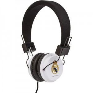Real Madrid Headphones - Black/White