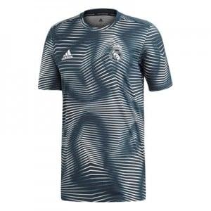 Real Madrid Pre Match Shirt - Grey