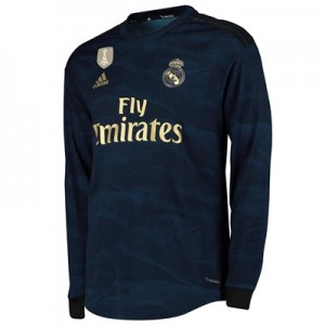 Real Madrid Away Authentic Shirt 2019 - 20 - Long Sleeve