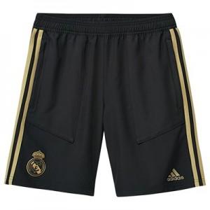 Real Madrid Training Woven Shorts - Black - Kids