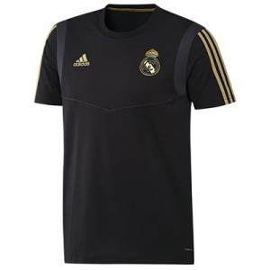 Real Madrid Training T-Shirt – Black