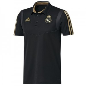 Real Madrid Training Polo - Black