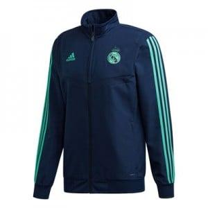 Real Madrid UCL Presentation Jacket - Navy