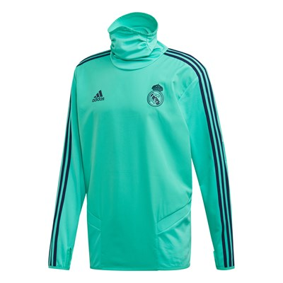 Real Madrid UCL Training Warm Top - Green