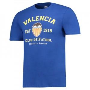 Valencia CF Established 1919 T-Shirt – Cobolt Blue – Mens