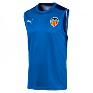 Valencia CF Sleeveless Training Jersey - Blue