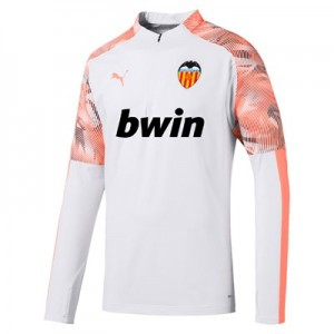 Valencia CF 1/4 Zip Training Top – White